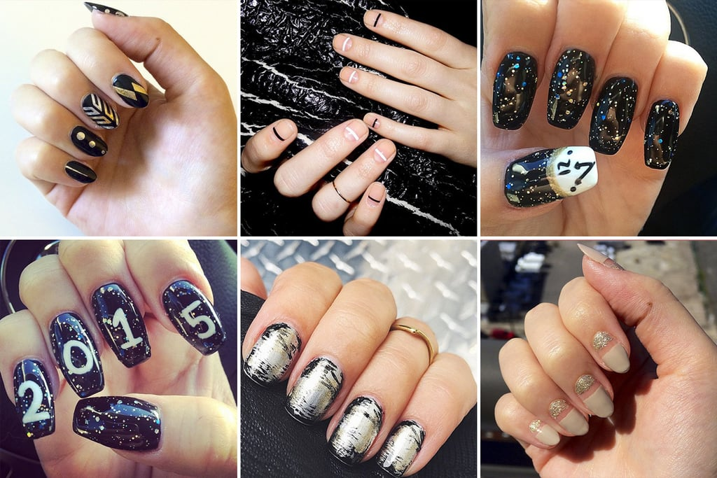 14 Manicure Ideas to Help You Nail It on New Year's Eve