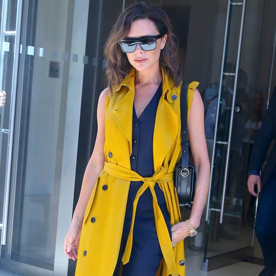 Victoria Beckham Wearing Color