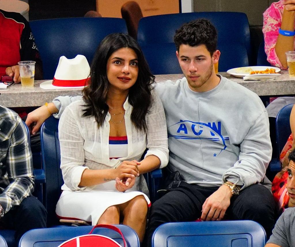 Priyanka Chopra's White Dress With Nick Jonas At US Open