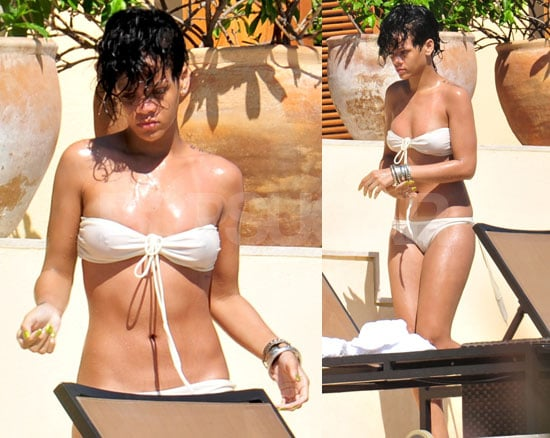 Bikini Photos of Rihanna in Mexico