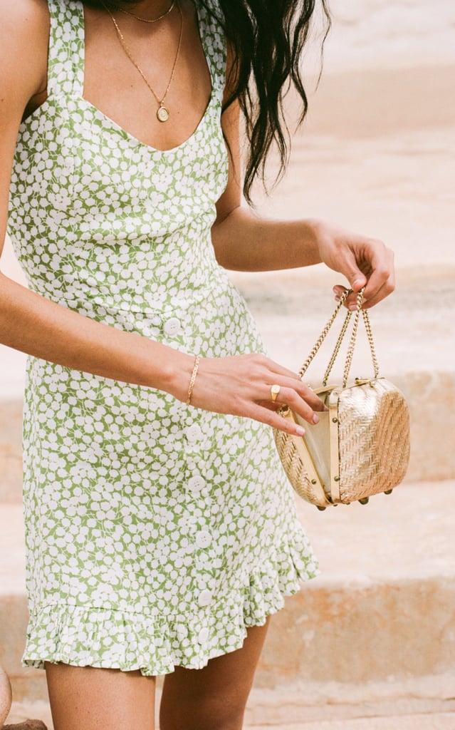 Faithfull The Brand Lou Lou Floral-Print Mini Dress