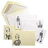 I love these notecards (£50) by Holly Fulton for Smythson.