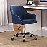 Belleze Office Chair Adjustable Swivel Mid-Back Desk Chair