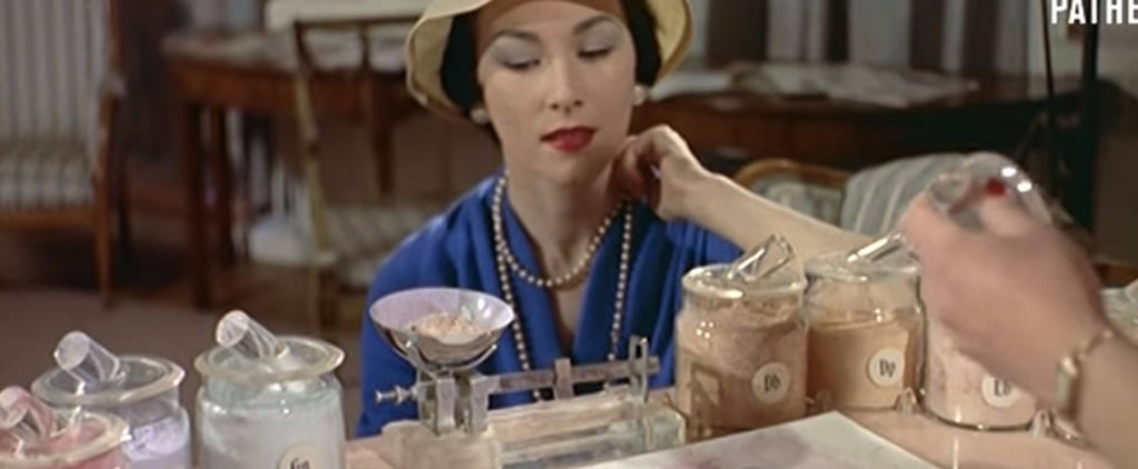 This Vintage Video of Face Powder Being Made Is the Coolest Thing You'll See All Day