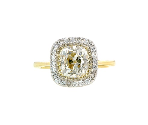 This pricey Doyle & Doyle engagement ring ($22,950) is simply jaw-dropping . . . we're currently trying to make a list of justifiable reasons why this is worth the splurge. Number one reason? Just look at it.