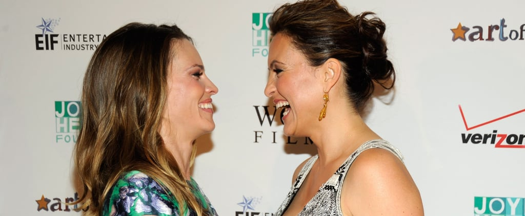 Mariska Hargitay and Hilary Swank Pictures