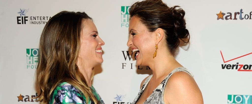 After 2 Decades of Friendship, Mariska Hargitay and Hilary Swank Are Still Closer Than Ever
