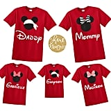 Red Disney Family Shirts