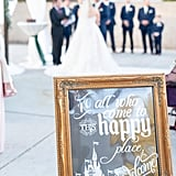 This Couple Included Disney-Themed Details in Their Wedding