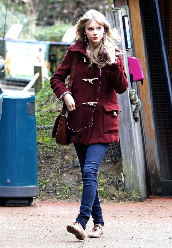 And Wore the Same Wash With a Cranberry Coat
