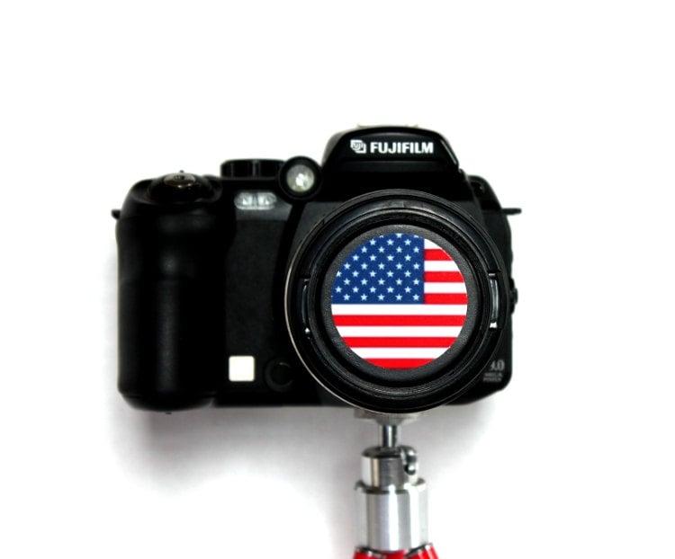 Flag Camera Cap