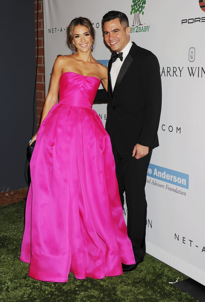 Jessica Alba and Cash Warren attended the Baby2Baby Gala.