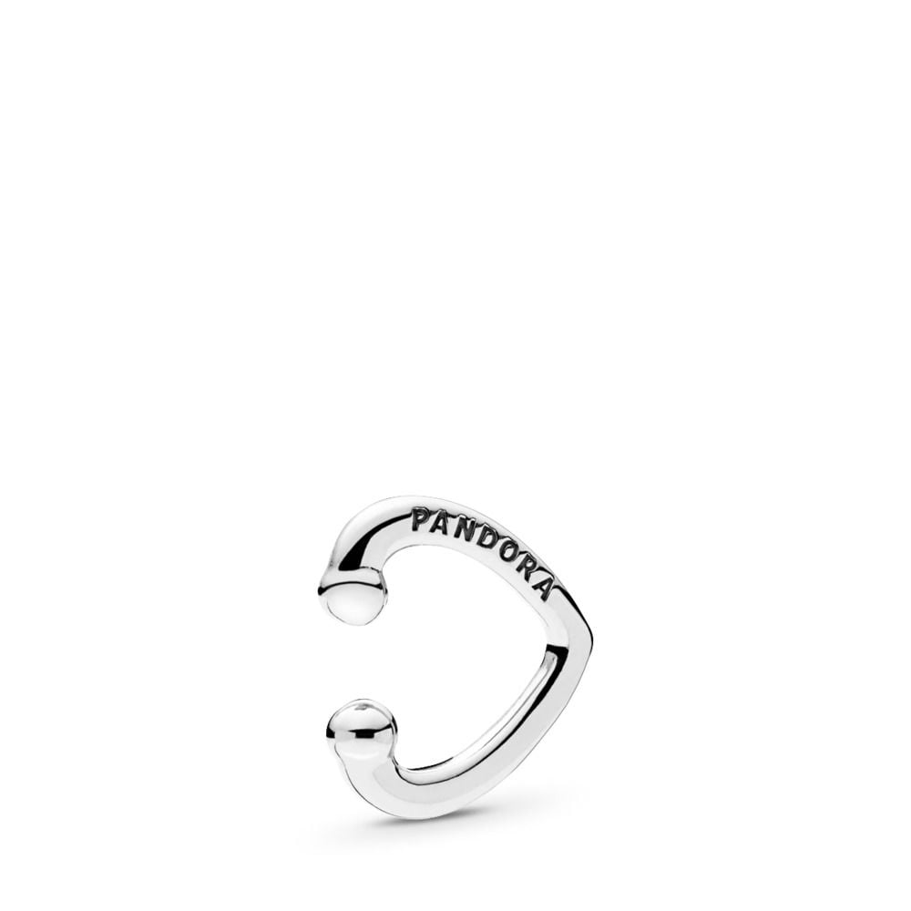 Pandora Open Heart Ear Cuff