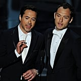 Best Bromance: Robert Downey Jr. and Jude Law