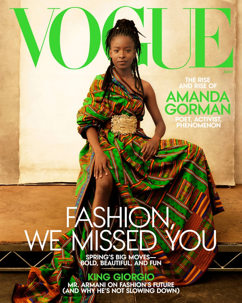 Amanda Gorman's Outfits in Vogue's May 2021 Cover Story