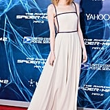 Emma Stone at the New York Premiere of The Amazing Spider-Man 2 in 2014