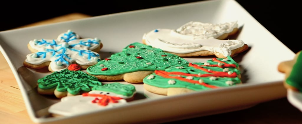 how to decorate christmas sugar cookies video popsugar food