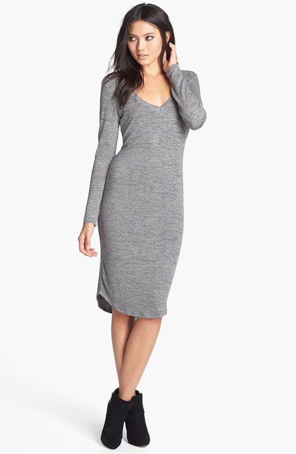 Simple and simply chic – we'd style this Madison & Berkeley v-neck midi dress ($42) about a hundred different ways.