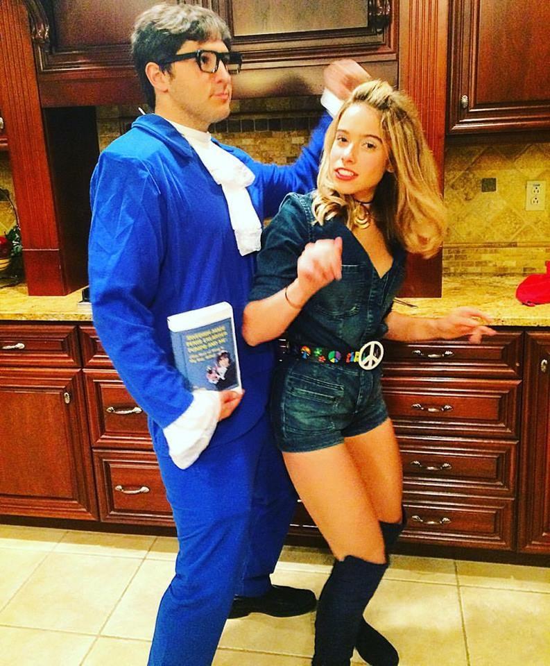 Austin Powers and Felicity Shagwell