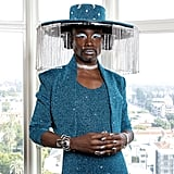 Billy Porter's Blue Sequined Outfit at the Grammys 2020