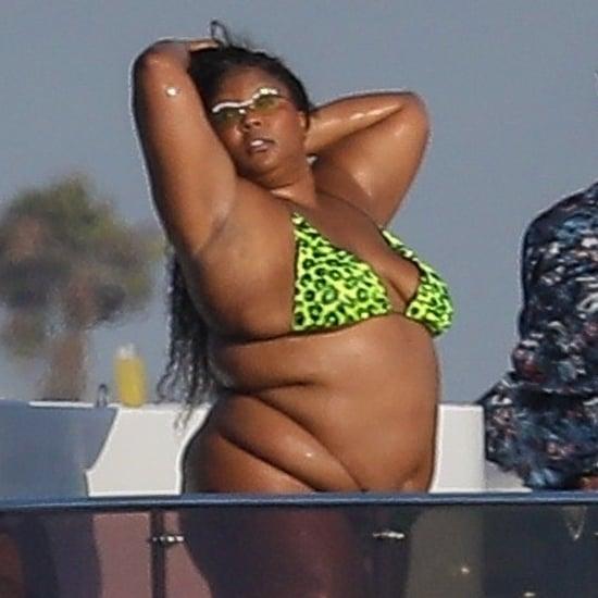 Lizzo Has a Bikini-Clad Outing in Marina del Rey, CA