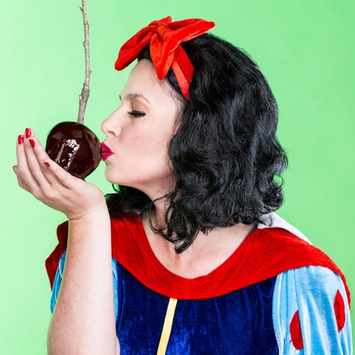Snow White's Poison Candy Apples