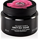 The Body Shop British Rose Exfoliating Gel Body Scrub