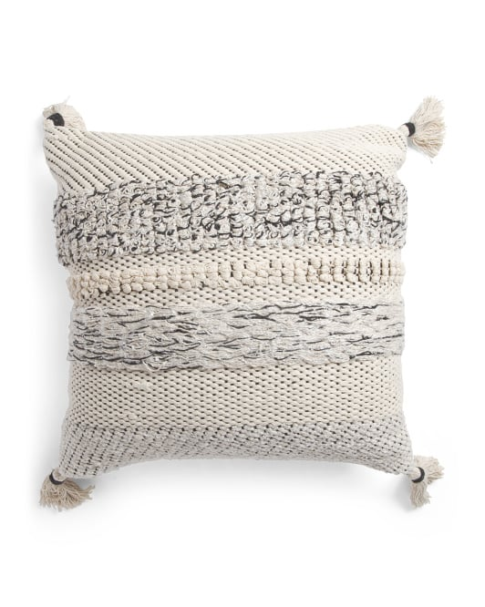 Made in India Loop Pillow