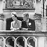 Edward and Wallis were married in June 1937 at the Château de Candé in France — members of the royal family were forbidden from attending the ceremony by Edward's brother Albert, who had then taken the throne as King George VI. Edward was given the Duke of Windsor title, making Wallis a duchess.