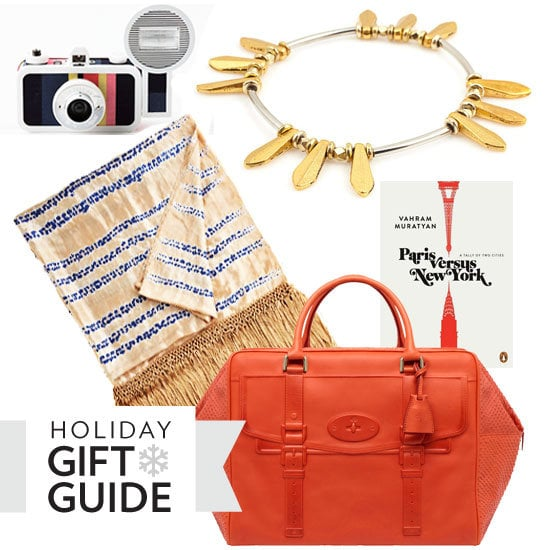 Don't know what to get your friend who is always on the go? Check out our gift guide for travelers. We're partial to the Mulberry tote.
