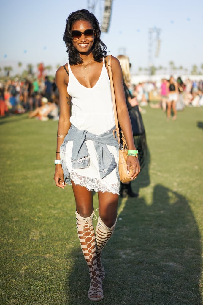 Festival Fashion: Knee-High Gladiator Sandals
