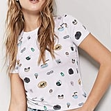 Forever 21 Graphic Crew Neck Tee