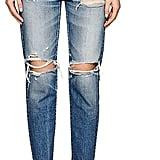 Moussy Women's Garnet Distressed Skinny Jeans