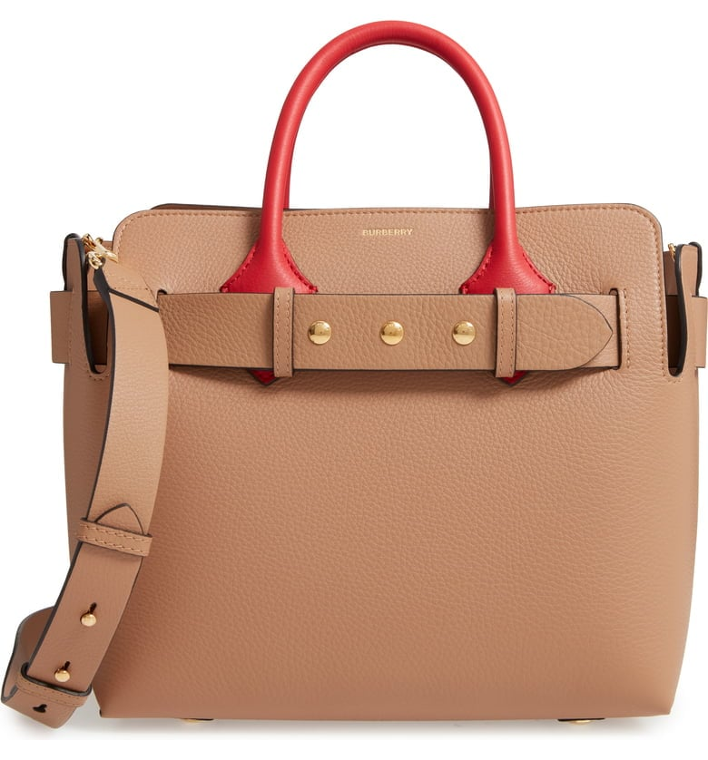 Burberry Small Belt Leather Satchel | Best Bags For Women