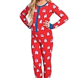 Munki Munki x Star Wars Christmas R2-D2 Fitted One-Piece Pajamas (Toddler, Little Kid & Big Kid)