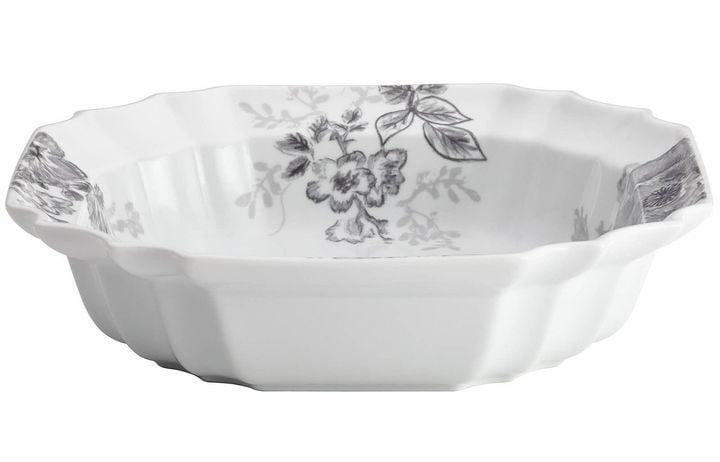 Bonjour Shaded Garden Porcelain Serving Bowl