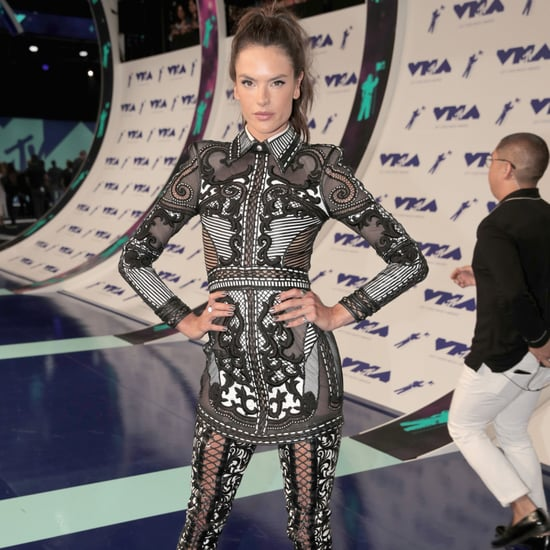 Alessandra Ambrosio's Legging Boots at the MTV VMAs 2017