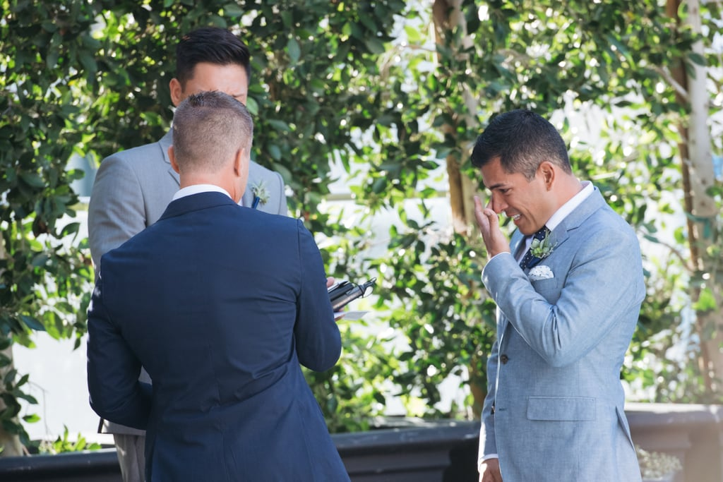 Brett and Danny met at the Hotel Palomar in San Diego, and they said their vows at the very same venue years later. See the wedding here!