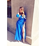 Khloé Kardashian showed some leg. Source: Instagram user khloekardashian