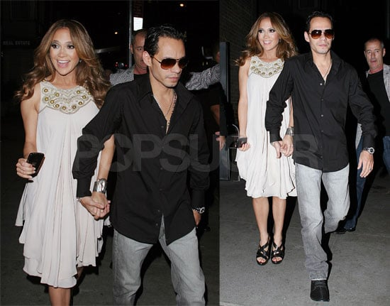 J Lo and Marc Party in the City Where the Heat Is on