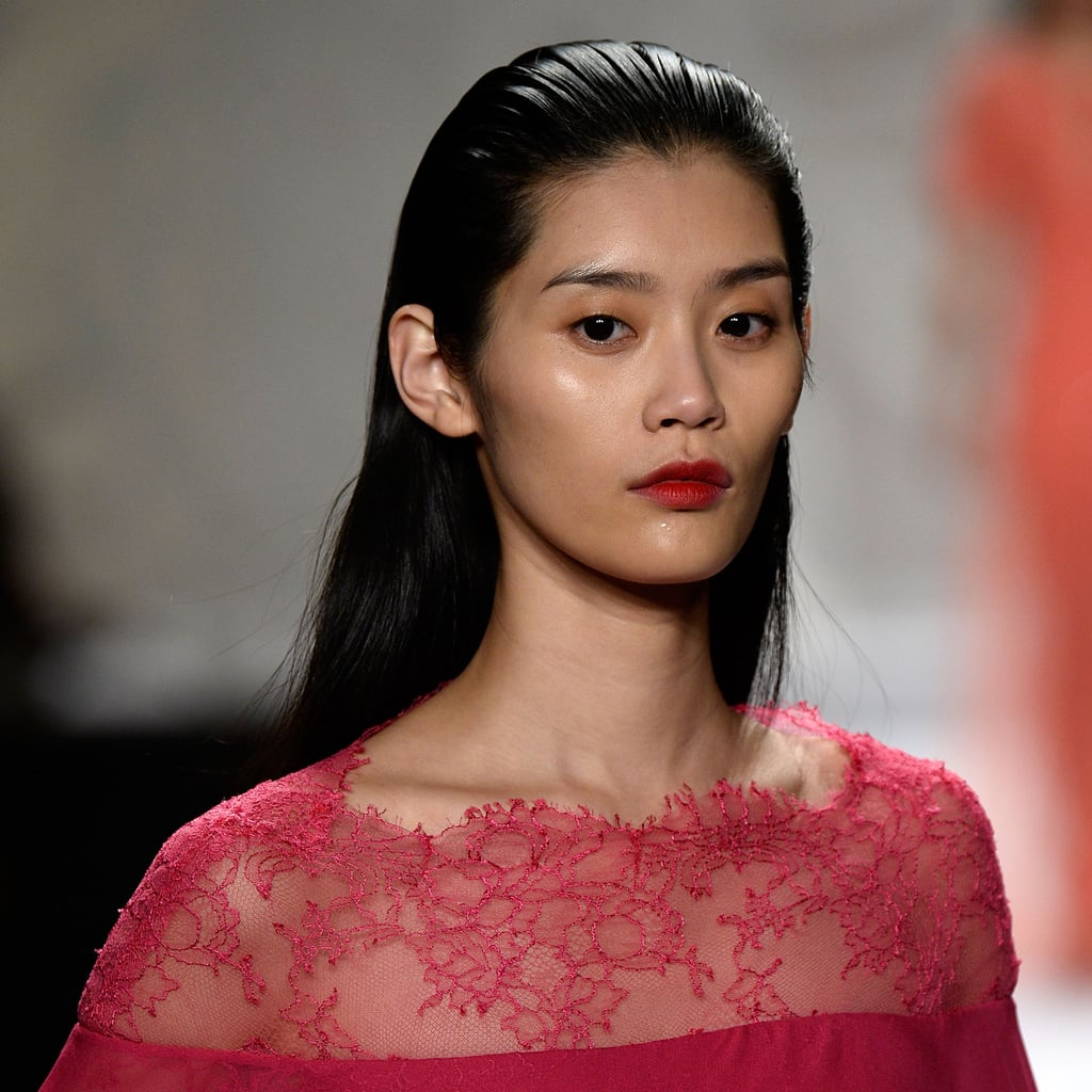 Monique Lhuillier Beauty 2014 Spring New York Fashion Week