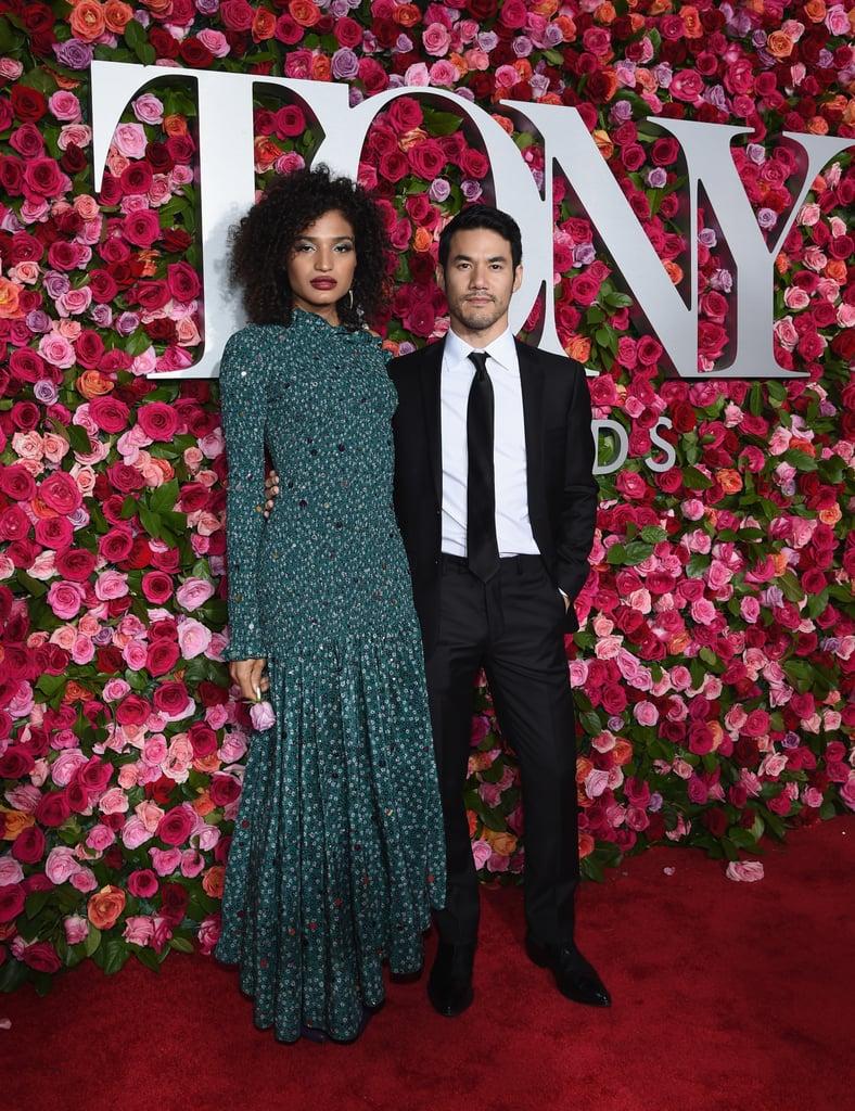 Indya Moore and Joseph Altuzarra