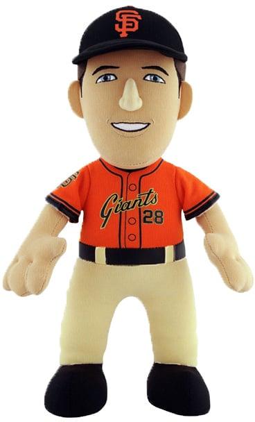 San Francisco Giants Orange Buster Posey Plush Doll