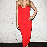 Doutzen Kroes at the Barneys New York fete in honor of Carine Roitfeld in New York in September 2011.