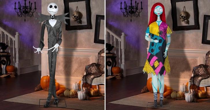Jack and Sally Skeleton