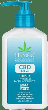 CBD Thirsty Hydrating Facial Moisturizer SPF 30