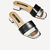 Zara Block Heel Sandals