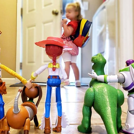 Toy Story Back to School Preschooler Photo