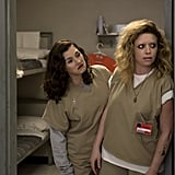 Fingers crossed Lorna (Yael Stone) and Nicky (Natasha Lyonne) can keep out of trouble.
