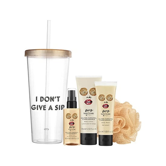 Being I Don't Give a Sip Tumbler and Bath Gift Set Giveaway